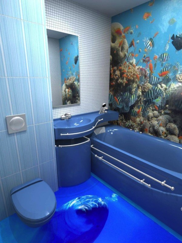 3D Bathroom designs