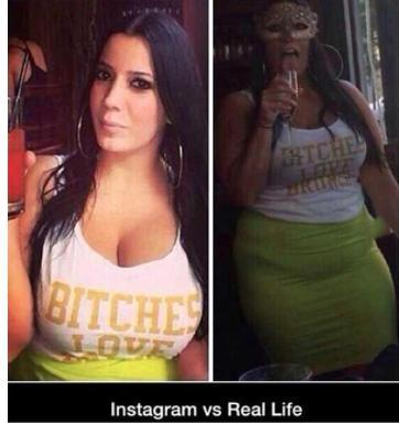 funny pics, funny pictures, insta vs. reality, Instagram vs. reality, Instagram vs. real life