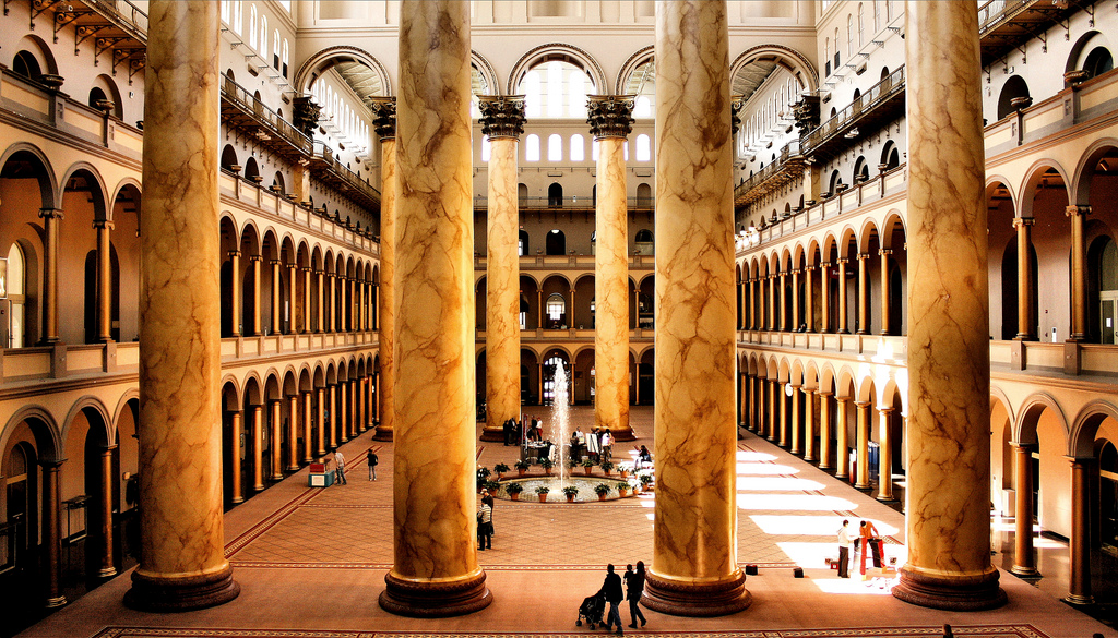 unusual museums you should visit - National Building Museum (Washington D.C)