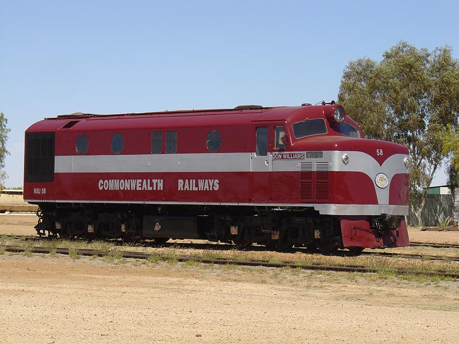 unusual museums you should visit - Old Ghan Heritage Railway Museum (Australia)