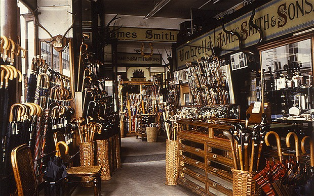 James Smith and Sons on Oxford Street