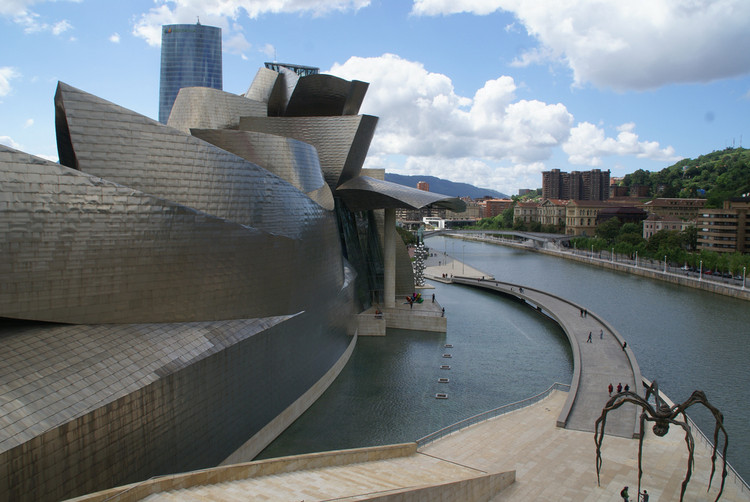 Most Underrated cities in spain - Guggenheim Bilbao museum
