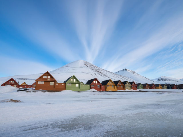 Mysterious places - Longyearbyen, Norway