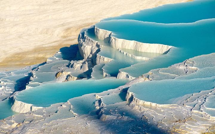 Mysterious places - Pamukkale, Turkey