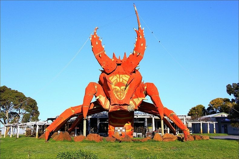 Off beat places for Travel Photography - Big Lobster