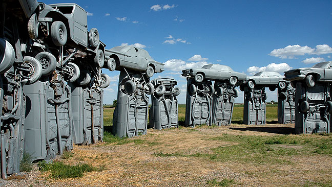 Off beat places for Travel Photography - Nebraska's Carhenge