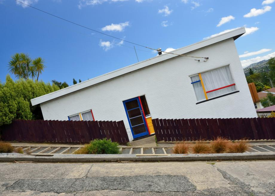 Off beat places for Travel Photography - Steepest Street in New Zealand