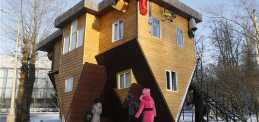 Off beat places for Travel Photography - Upside Down House, China