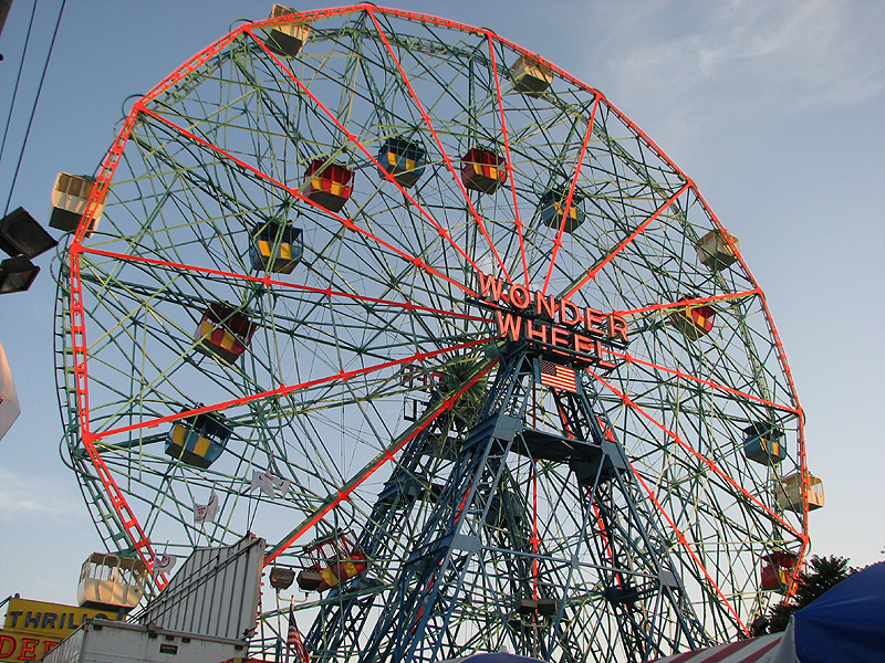 Places to see in New York - Deno's Wonder Wheel