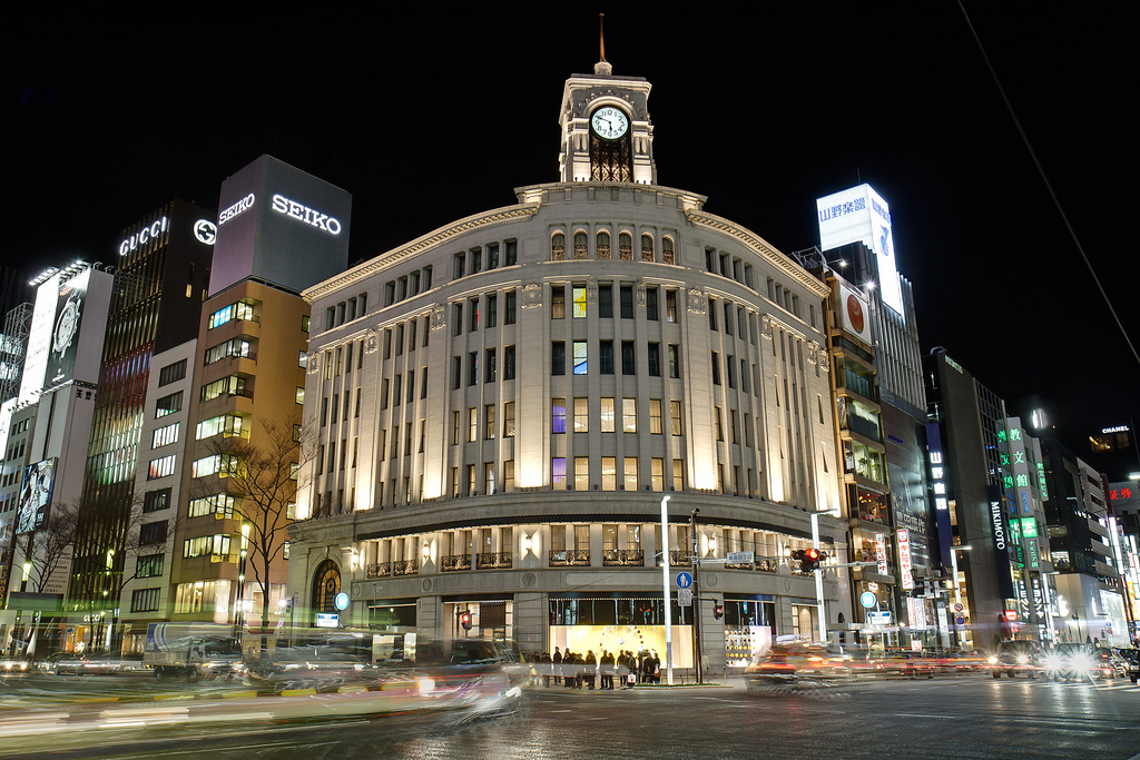 Places to visit in Tokyo - Ginza District