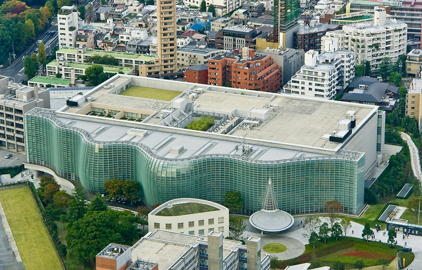 Places to visit in Tokyo - The National Art Center