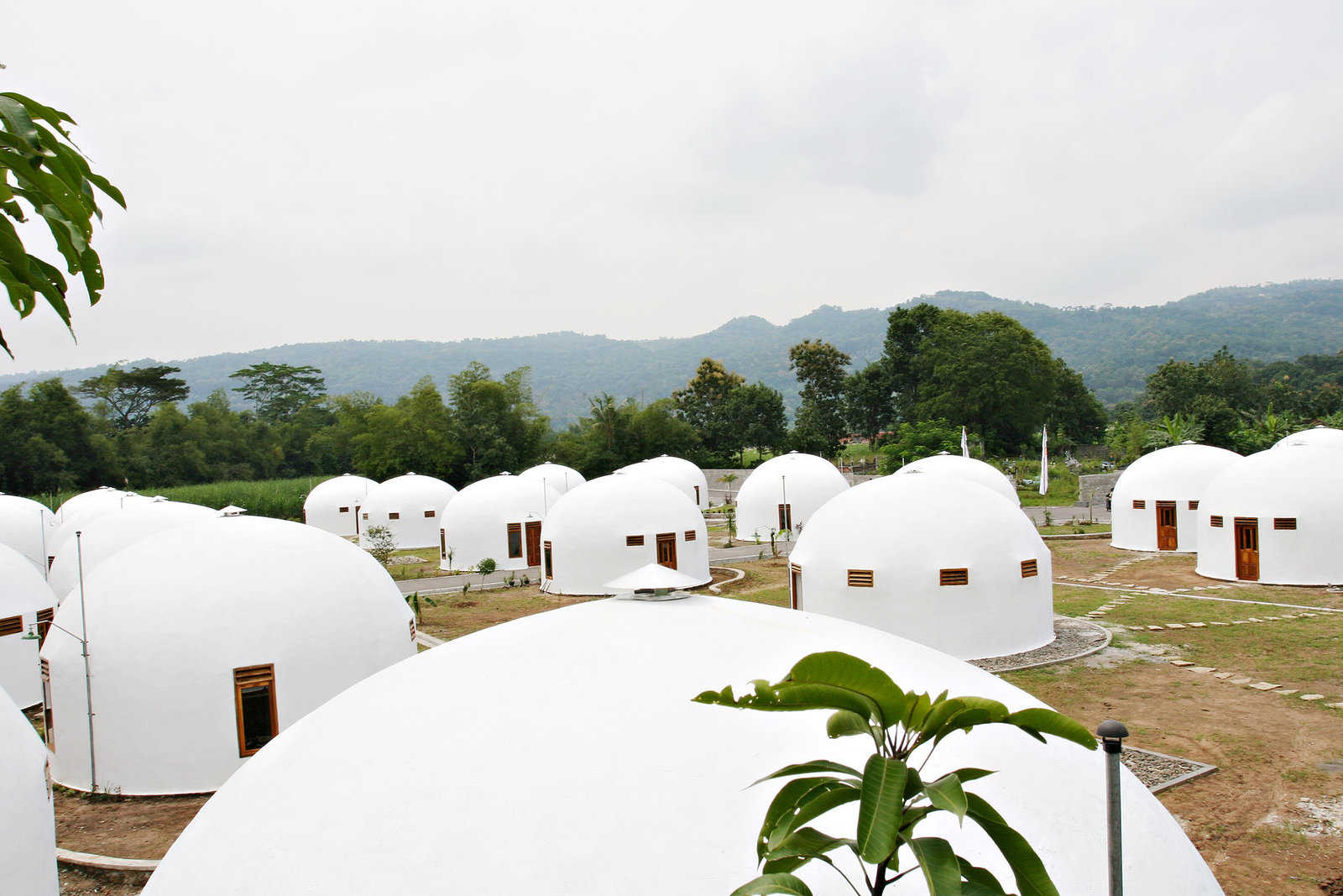 Strange Houses - Dome Houses, indonesia