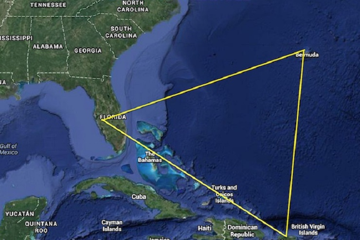 Strangest Places on Earth - Bermuda Triangle