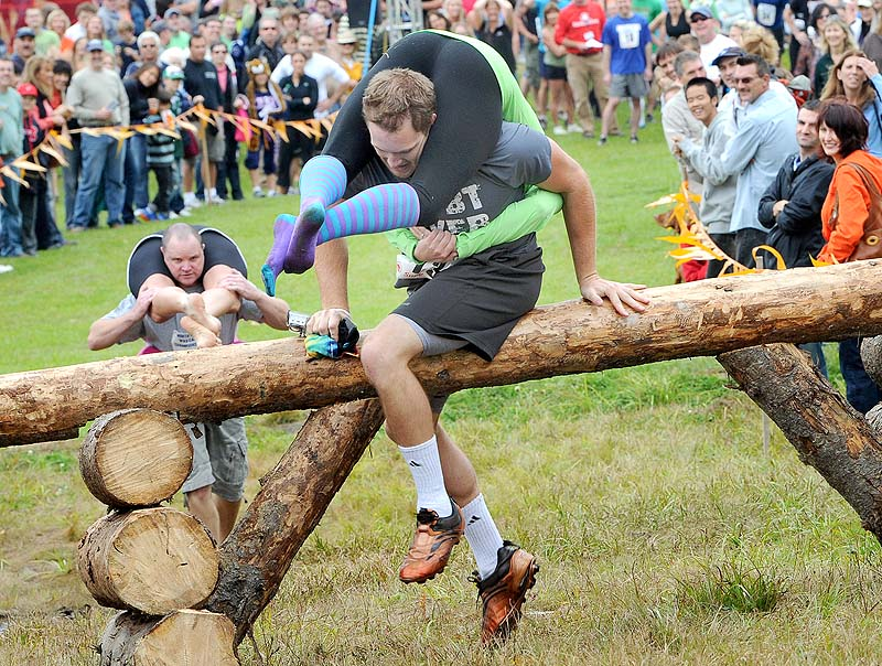 Unusual Sports - Wife Carrying Competition