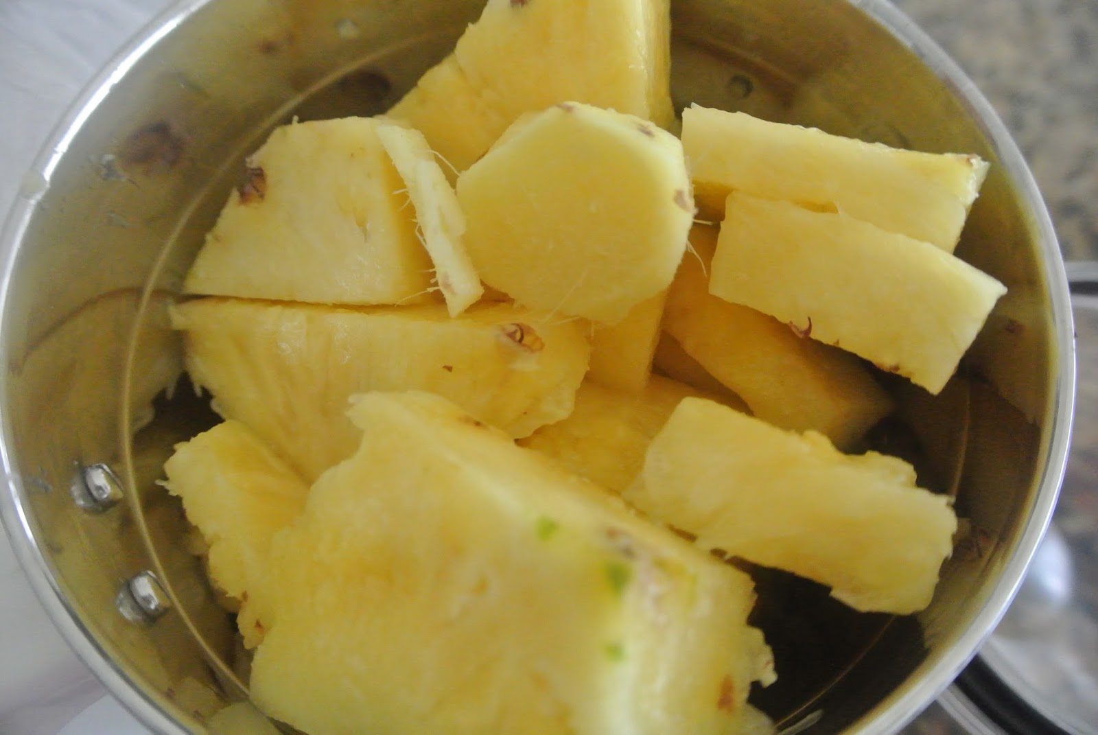 Snacks for weight loss - Pineapple with Sea Salt and lime juice