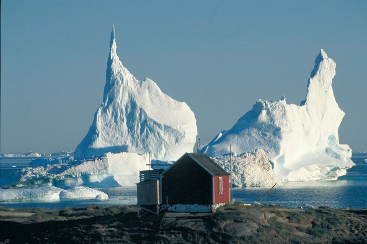 Coldest places on Earth - North Ice (Greenland)