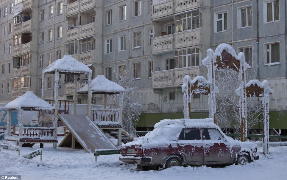 Coldest places on Earth - Oymyakon (Russia)