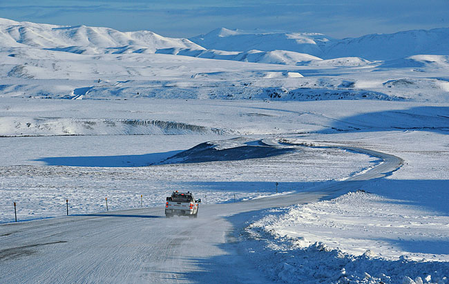 Coldest places on Earth - Snag –Yukon (Canada)