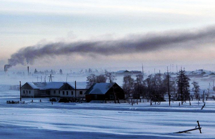 Coldest places on Earth - Verkhoyansk (Russia)