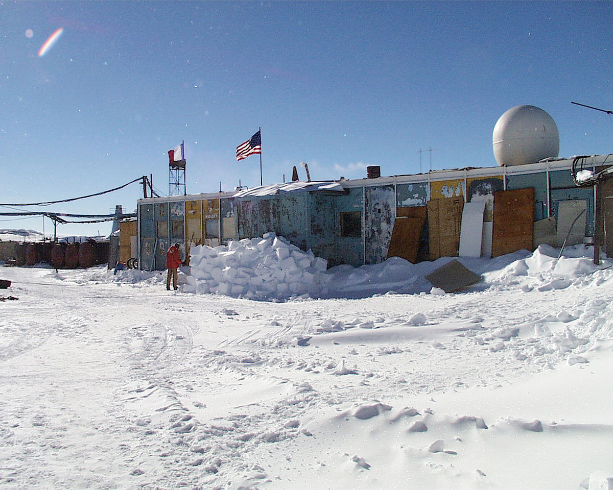 Coldest places on Earth - Vostok (Antarctica)