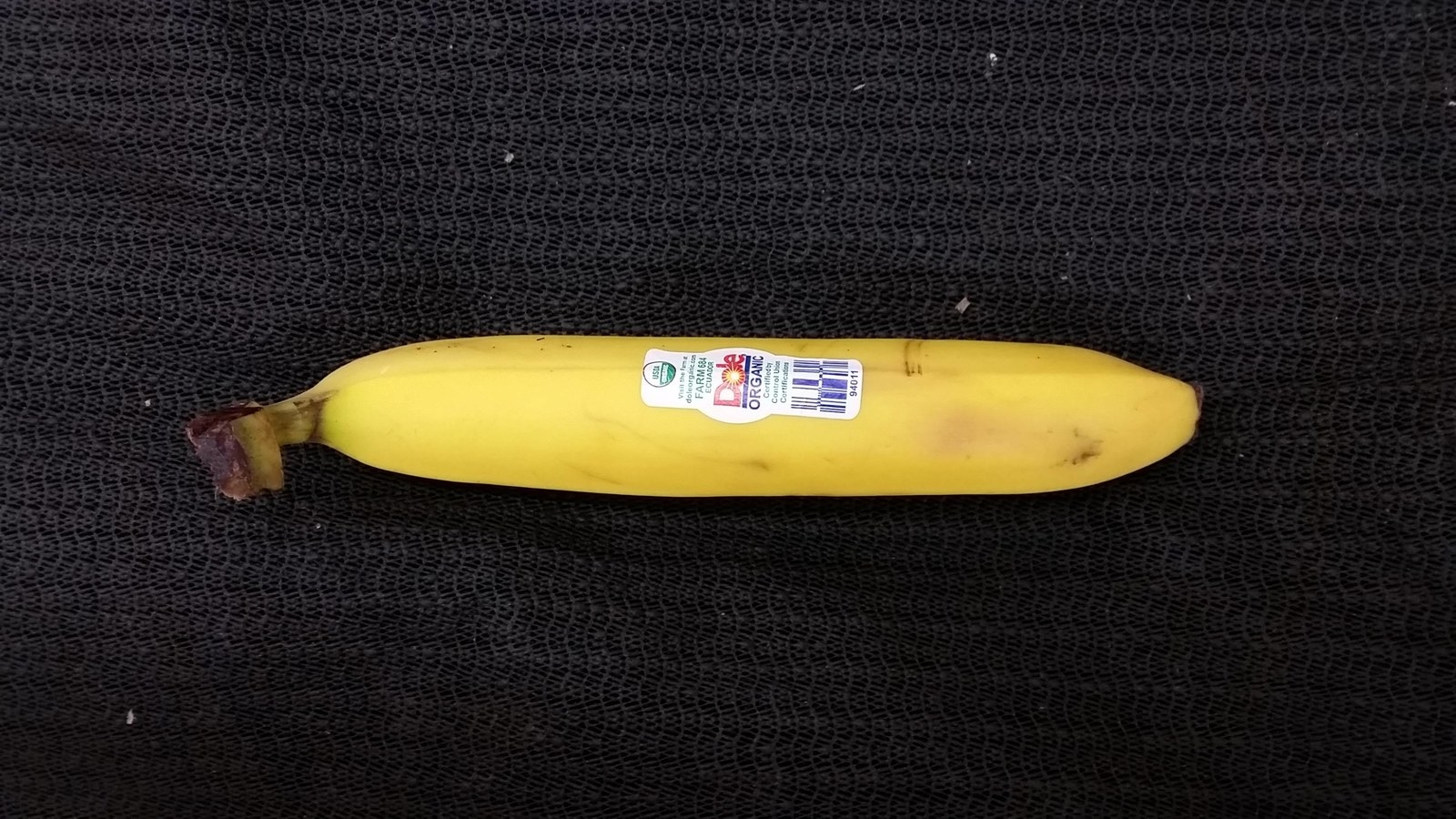 Funny fruits - Straight Banana