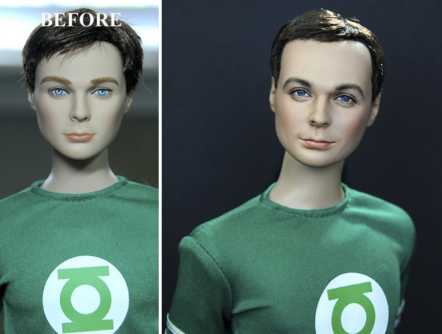 Jim-Parsons doll