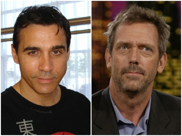 Adrian Paul and Hugh Laurie — 57 years old