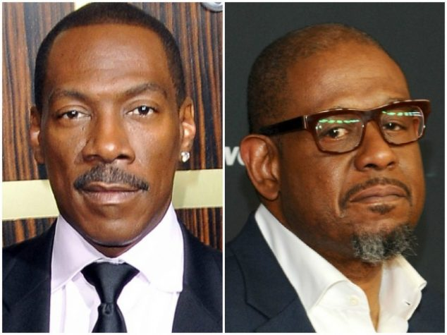 Eddie Murphy and Forest Whitaker — 55 years old