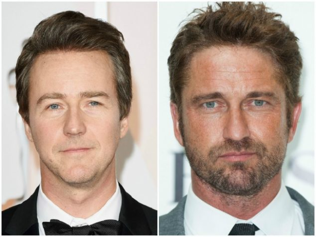 Edward Norton and Gerard Butler — 47 years old