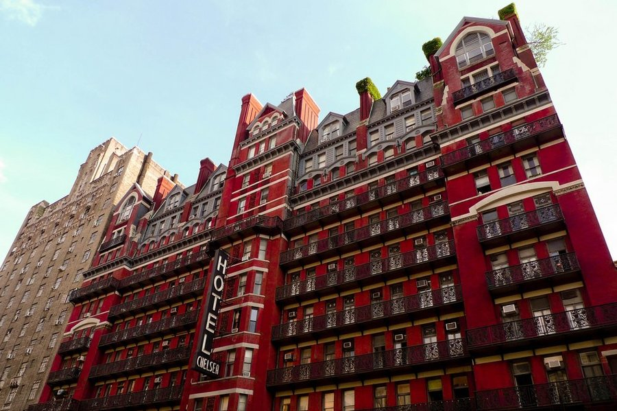 Haunted hotels - Hotel Chelsea (New York)