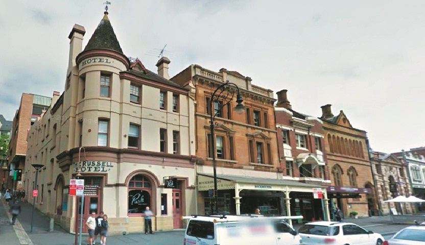 Haunted hotels - Russell Hotel (Australia)