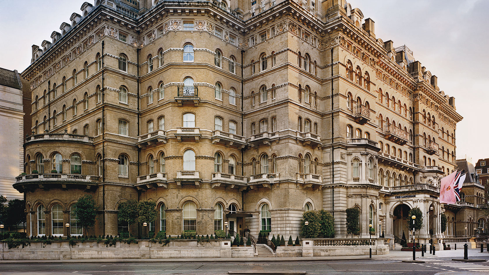 Haunted hotels - The Langham (London)