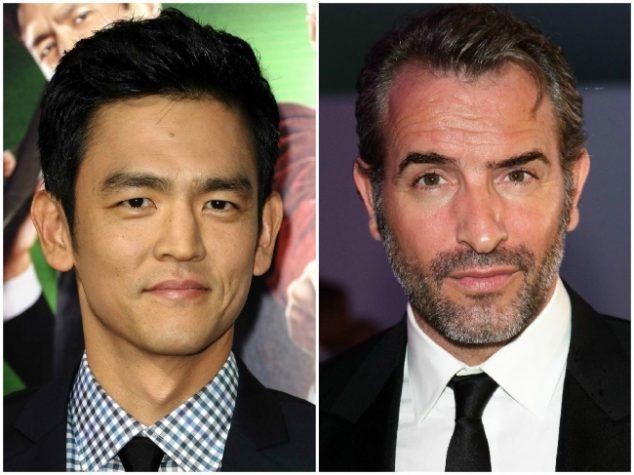 John Cho and Jean Dujardin — 44 years old