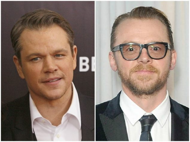 Matt Damon and Simon Pegg — 46 years old