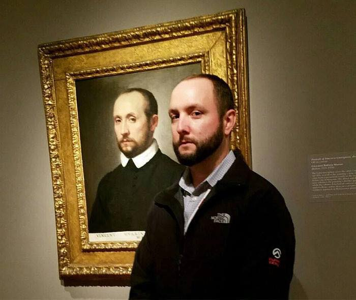 People Who Met Their Doppelganger In Art