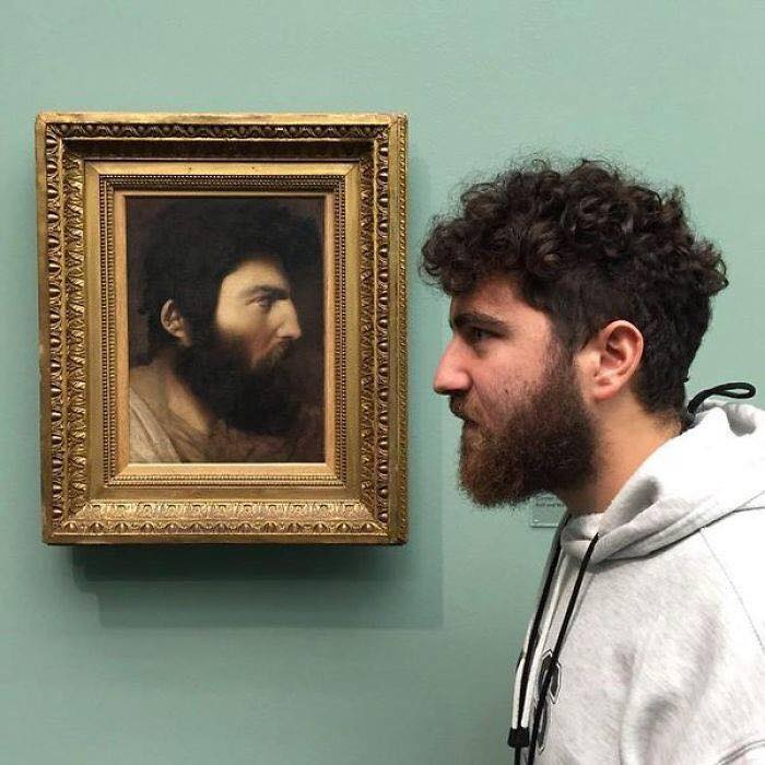 People Who Met Their Doppelganger In Art (5)