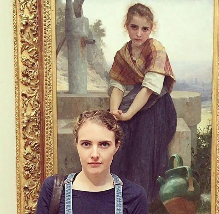 People Who Met Their Doppelganger In Art (6)