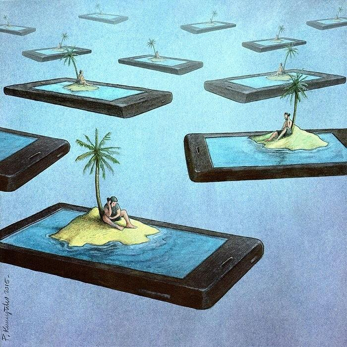 Satirical Illustrations By Pawel Kuczynski (1)