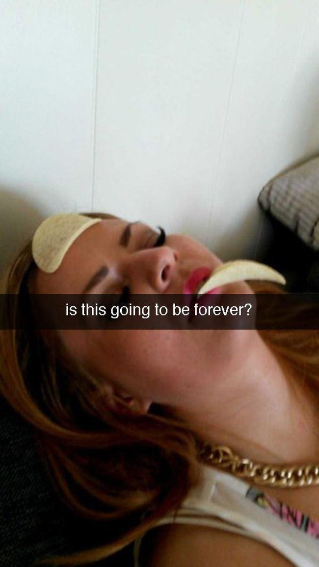 Snapchats From The Morning After