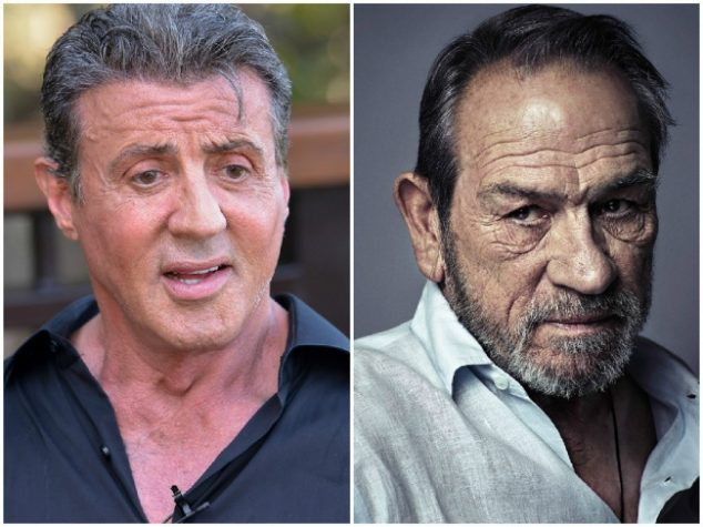 Sylvester Stallone and Tommy Lee Jones — 70 years old