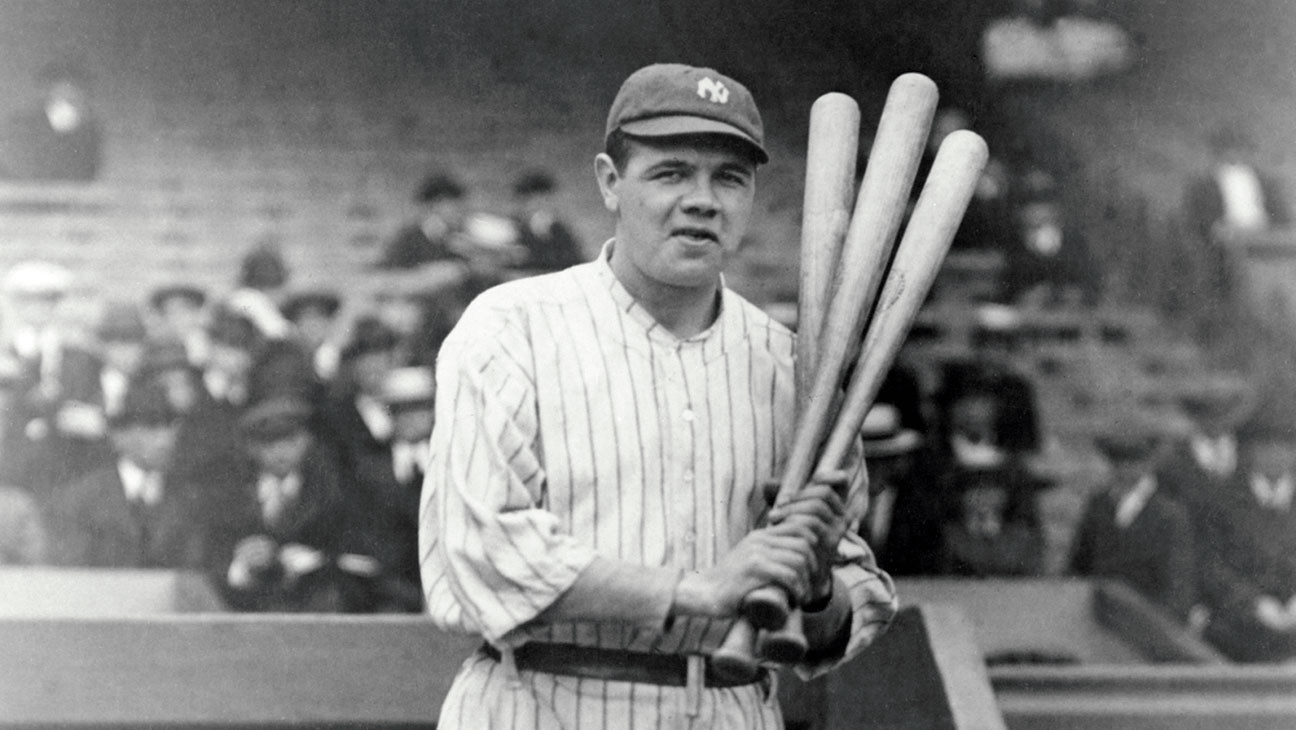 Top 5 New York Yankees Players - Babe Ruth
